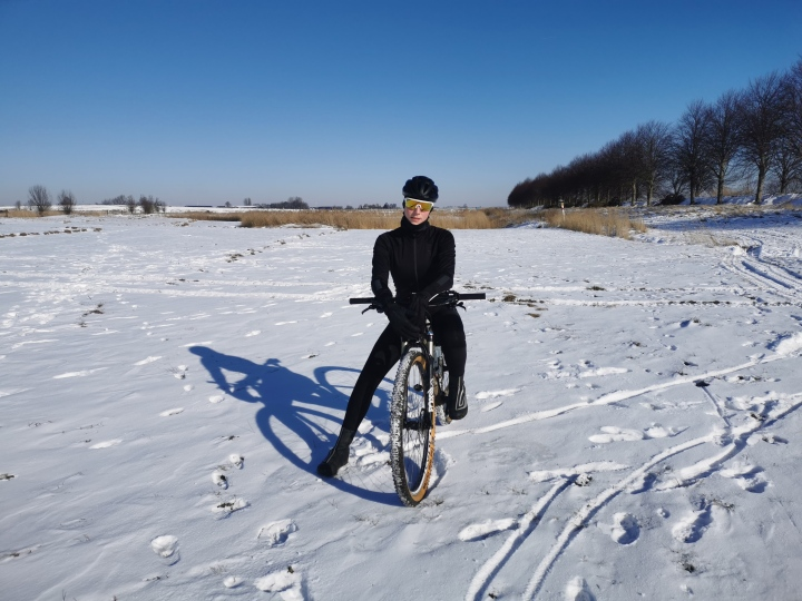 Riding on the storm snow!